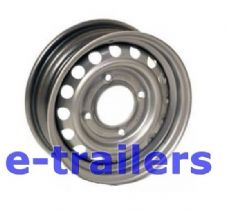 "13"" Mefro Trailer Wheel Rim 4.5J- 5.5"" or 140mm PCD - Fits Ifor Williams 95mm centre"